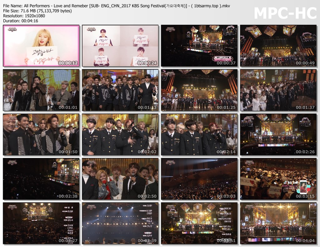 nsdd all performers   love and remeber [sub  eng chn 2017 kbs song festival(%EA%B0%80%EC%9A%94%EB%8C%80%EC%B6%95%EC%A0%9C)]   ( 1btsarmy.top ).mkv thumbs - video /links] BTS Various Artist Song Cover Performs]